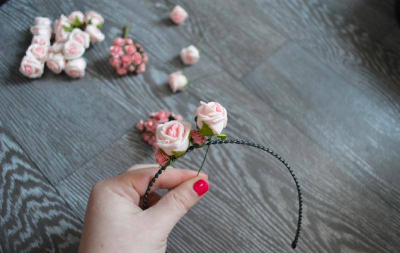 Serre T Te Couronne De Fleurs Id Es Et Conseils Customisation