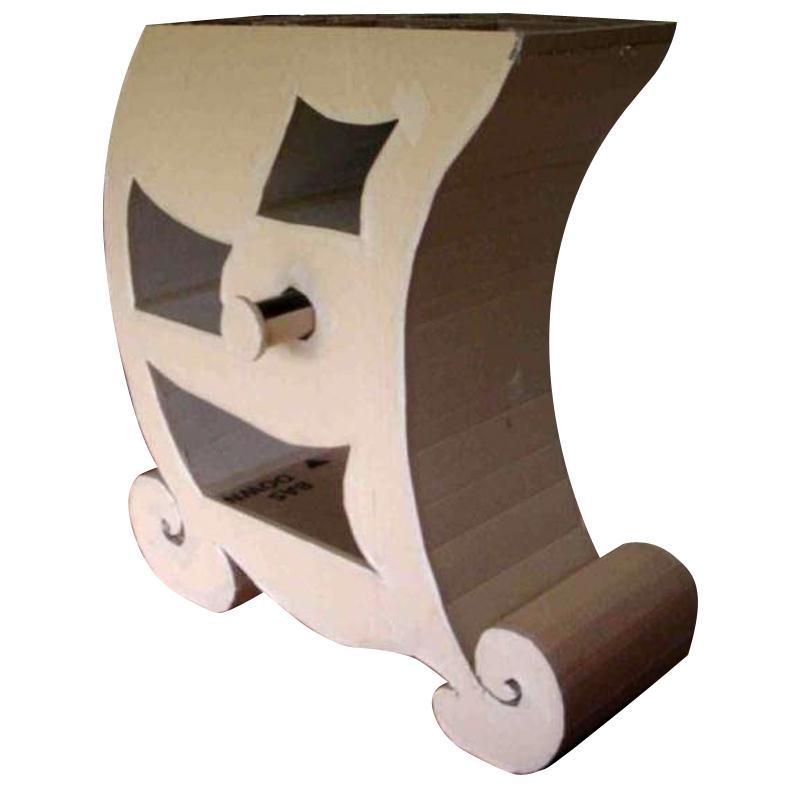 Fabriquer un meuble en carton id es et conseils meuble - Meuble chaussure en carton ...