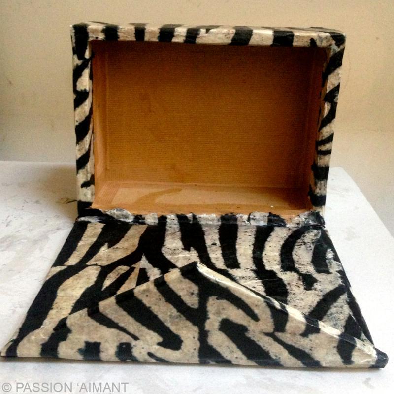 Bo te cartonnage aimant e id es et conseils meuble en carton - Decoration boite en carton ...