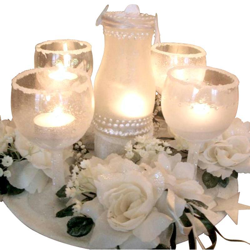 Centre de table givr id es et conseils d coration de table - Tuto centre de table mariage ...