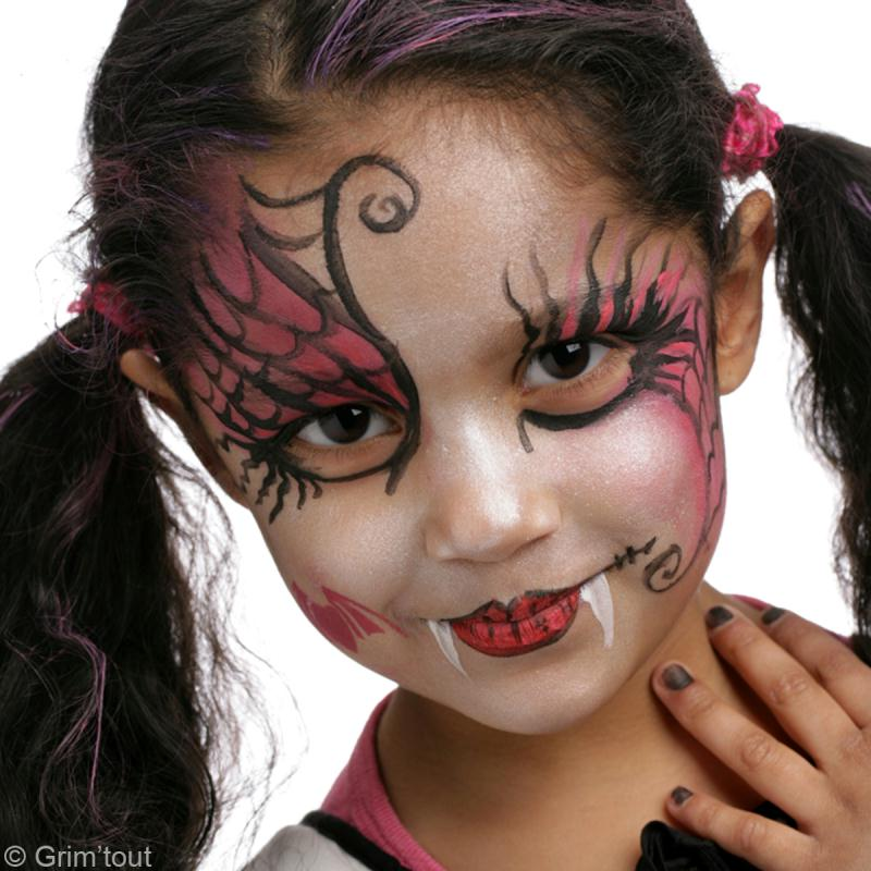 Maquillage Halloween Facile Pour Fille Vampire Tendresse Et