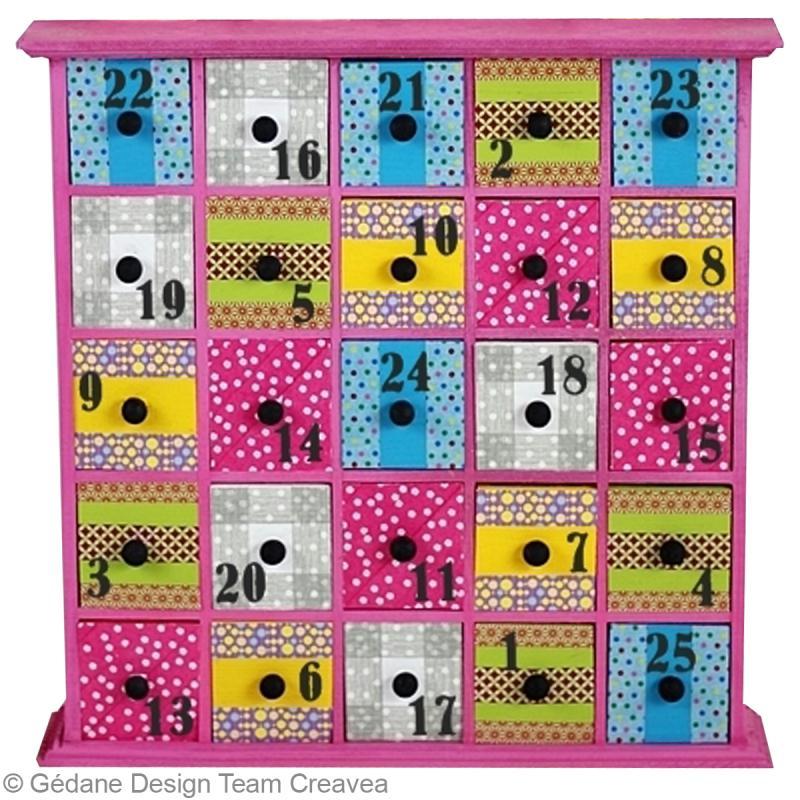bricolage calendrier de l 39 avent id es et conseils. Black Bedroom Furniture Sets. Home Design Ideas