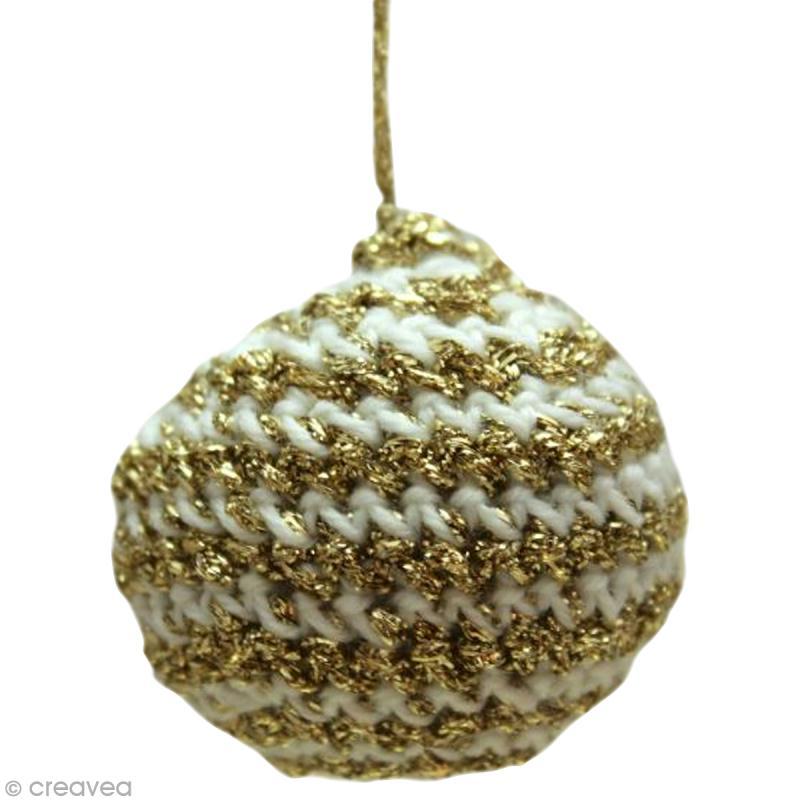 fabriquer des boules de noel au crochet id es et conseils boules de no l. Black Bedroom Furniture Sets. Home Design Ideas