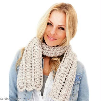 tuto charpe en laine grosse maille echarpe femme ajour e id es et conseils crochet et tricot. Black Bedroom Furniture Sets. Home Design Ideas