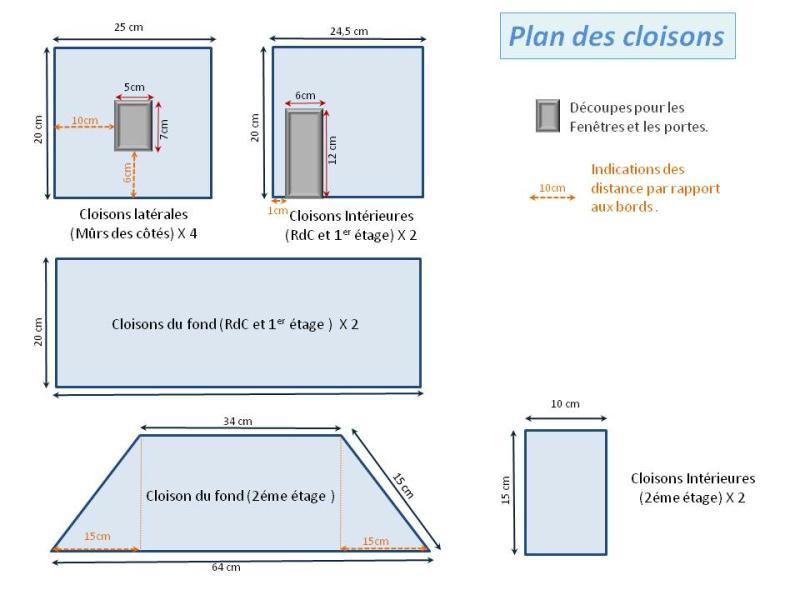 Fabriquer maison de poup e en carton plume id es et - Comment construire une maison en carton miniature ...