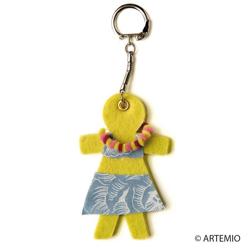 Fabriquer des porte cl s en tissu feutrine id es et conseils f te des m res - Fabriquer un porte clef ...