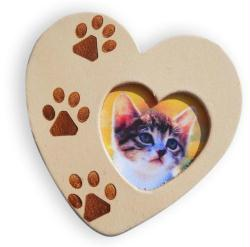 1. COEUR EN CUIR '' LOVELY CAT''