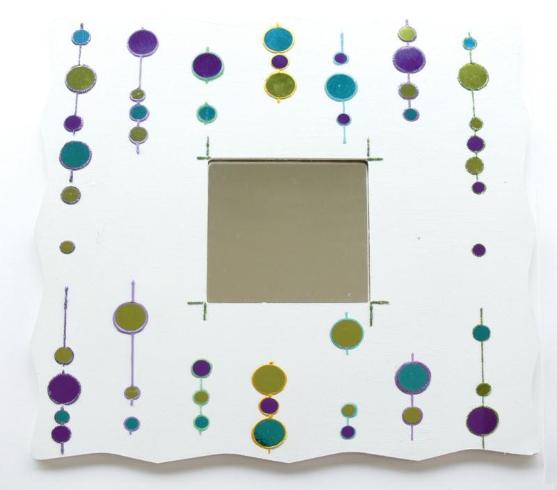 d corer des miroirs personnalis s avec la technique des cabochons diam 39 s id es et conseils. Black Bedroom Furniture Sets. Home Design Ideas