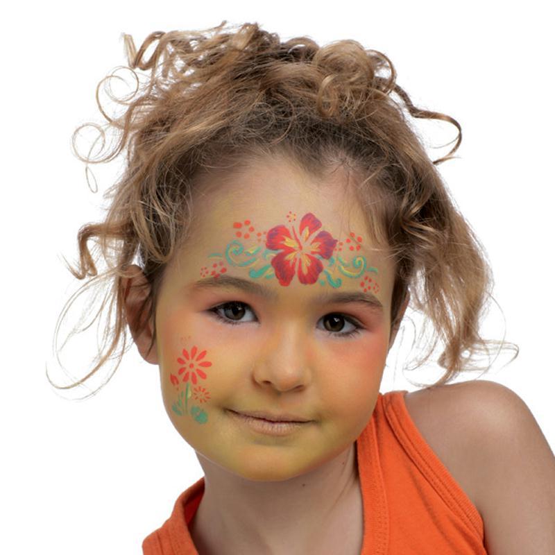 Maquillage enfant fleur pour carnaval id es et conseils - Modele maquillage princesse ...