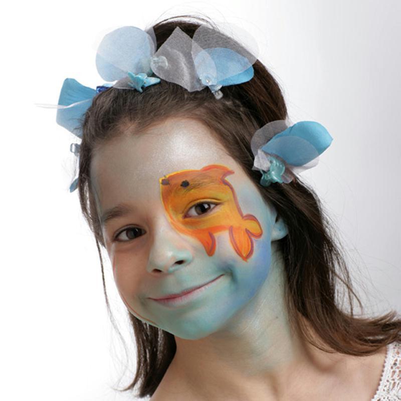 Mod le de maquillage enfant reine du lac id es et - Modele maquillage enfant ...