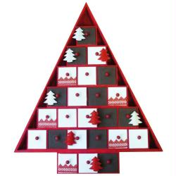 2. Un sapin en forme de calendrier de Nol