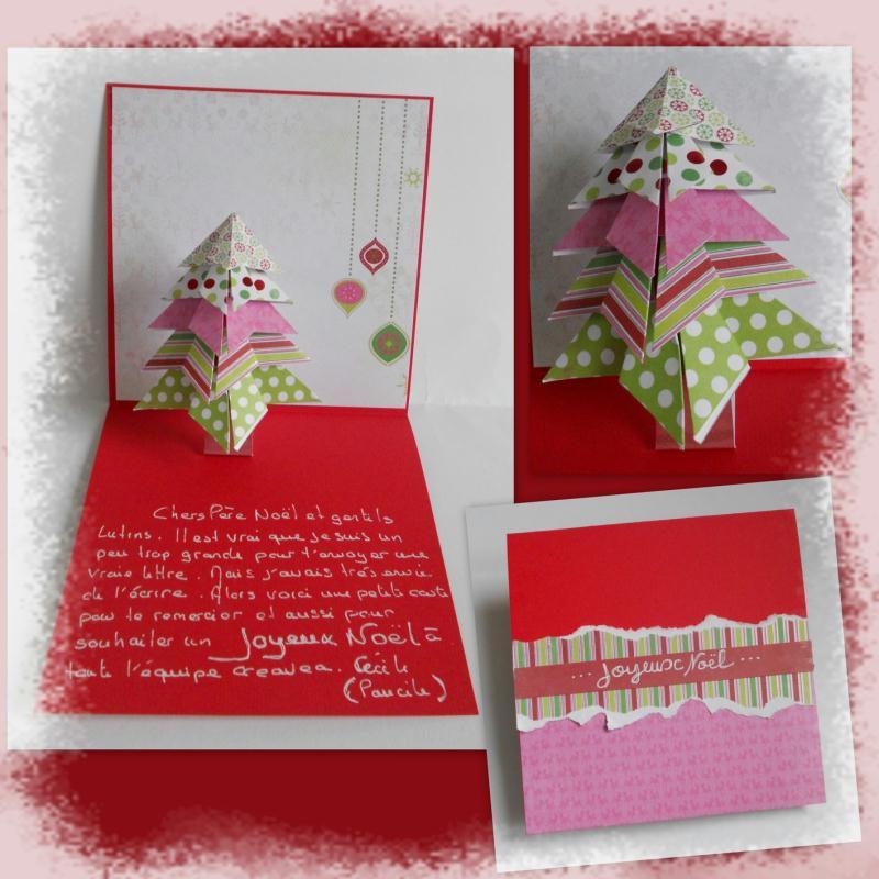 Carte de voeux le sapin en origami id es et conseils carte de voeux for Comfabriquer une carte de noel