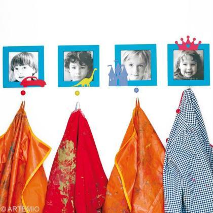 d corer le porte manteau la maternelle id es et. Black Bedroom Furniture Sets. Home Design Ideas