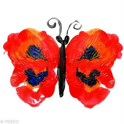 Dessiner un papillon avec la peinture prima magic id es et conseils activit - Idee peinture enfant ...