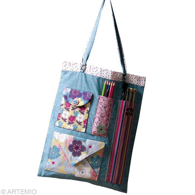 faire un sac en tissu pour les loisirs cr atifs id es et conseils couture. Black Bedroom Furniture Sets. Home Design Ideas