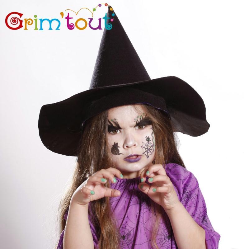 Maquillage de sorci re pour halloween id es et conseils maquillage - Maquillage halloween araignee ...