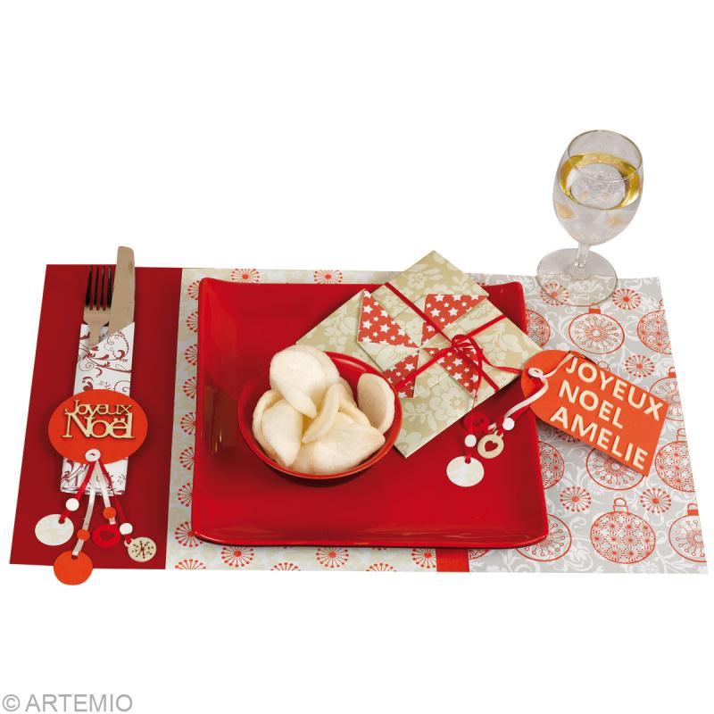 Fabriquer une d coration de table no l 2013 th me origami - Rond de serviette fait soi meme ...