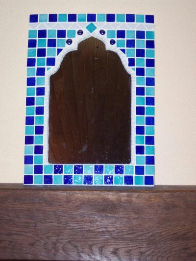 Miroir oriental cr ations mosa que de sissi28 n 10654 for Miroir oriental