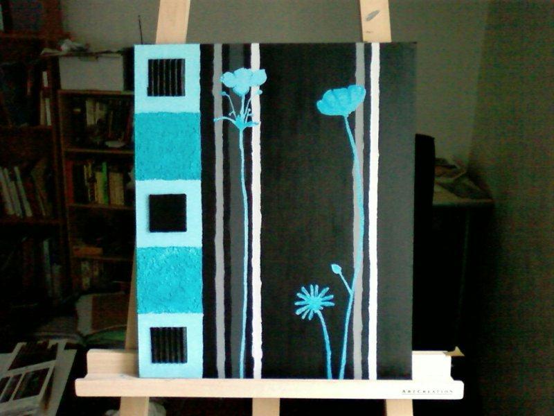 Beautiful salle de bain turquoise chocolat ideas awesome - Carrelage bleu turquoise ...