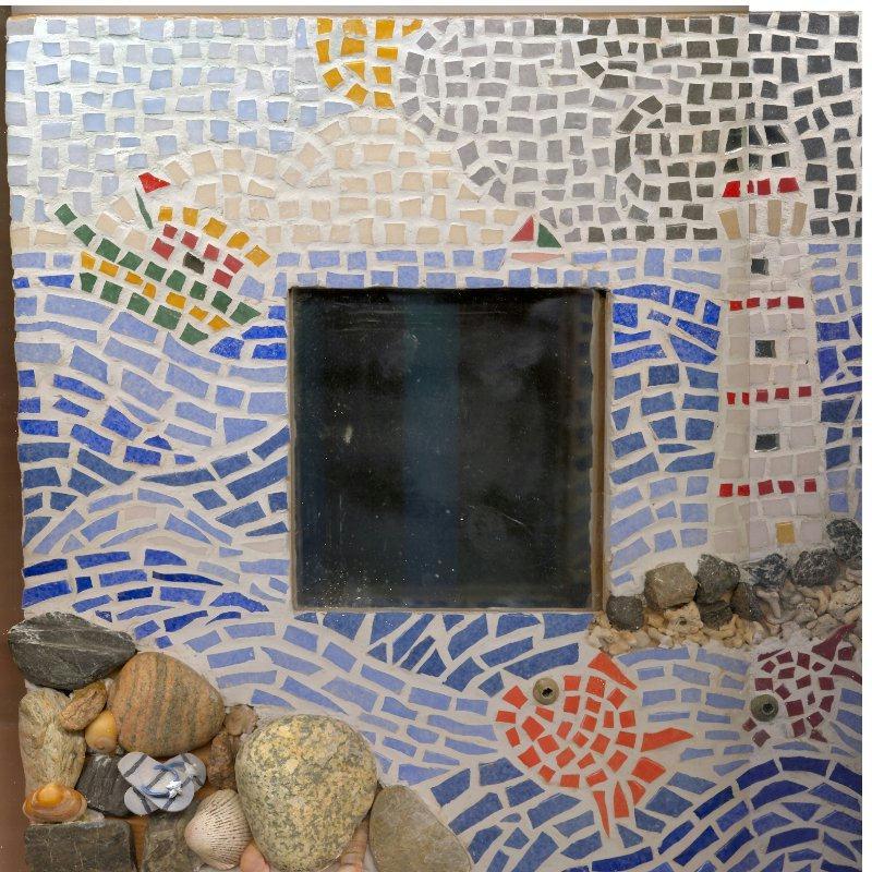 Miroir mosa que cr ations mosa que de layie n 13249 vue for Miroir mosaique