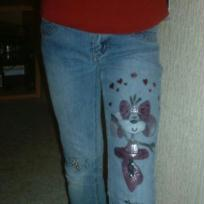 jeans customis suite