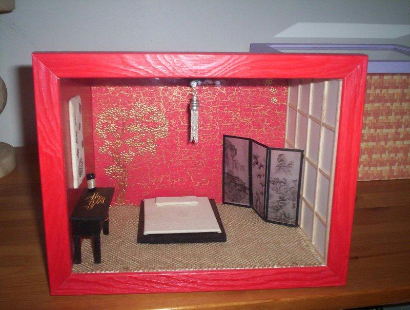 Chambre chinoise cr ations maquettes et miniatures de for Chambre chinoise