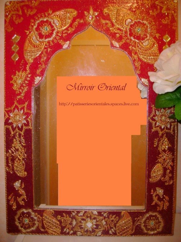Miroir oriental dessin hene cr ations home d co et for Miroir oriental