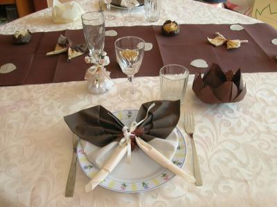 Deco table mariage cot femme cr ations techniques diverses de tilou76 n 16 - Creation deco mariage ...