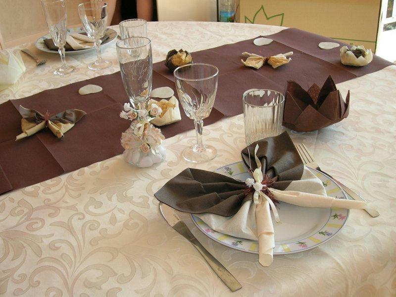 Deco mariage appercu de notre table cr ations techniques diverses de tilou7 - Creation deco mariage ...
