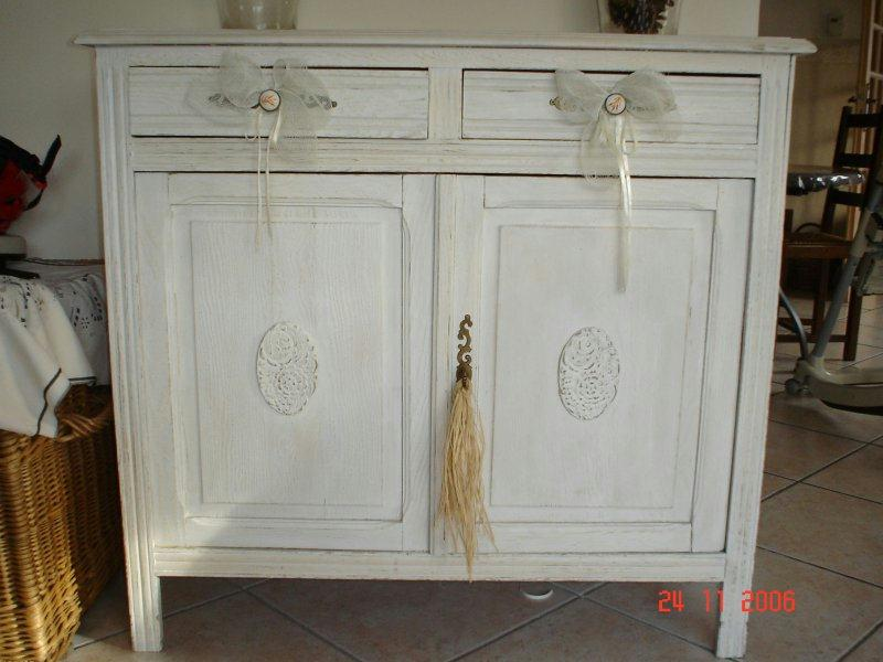 Vieux meuble couleur c ruse cr ations peinture multi for Peinture cerusee sur bois
