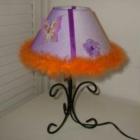 lampe enfant boa orange