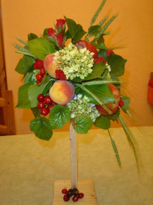 bouquet de fruits cr ations art floral de francoise fleur n 22325 vue 5528 fois. Black Bedroom Furniture Sets. Home Design Ideas