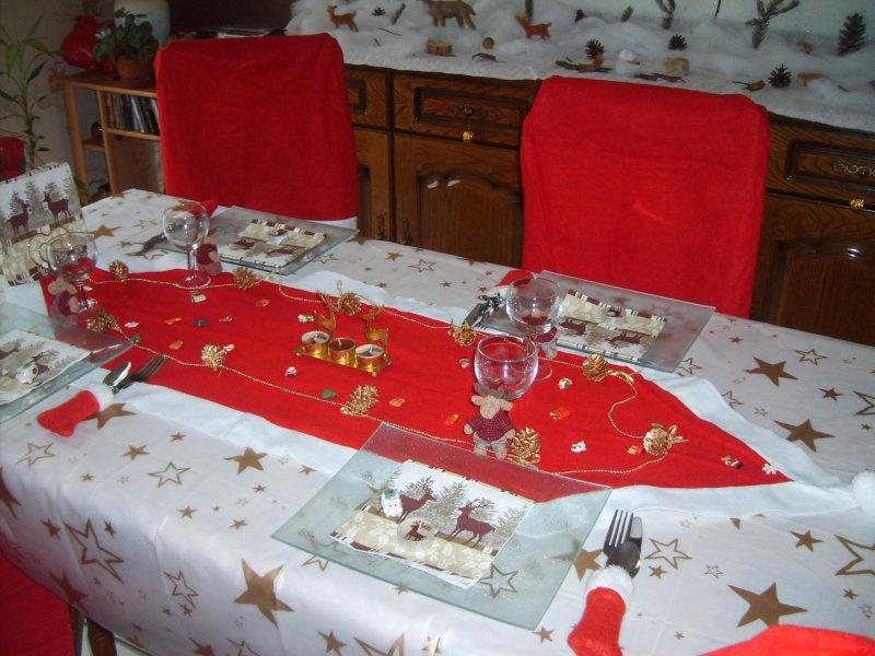 Table Noel Theme Cr Ations Art De La Table De Karinella