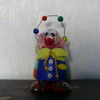 le clown jongleur