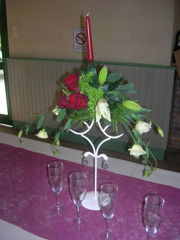 bougeoir cr ations art floral de orchidee35 n 28493 vue 2830 fois. Black Bedroom Furniture Sets. Home Design Ideas