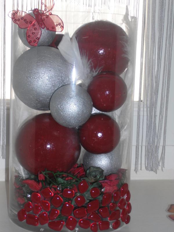 vase boule cr ations d coration de florence7260 n 28697 vue 3082 fois. Black Bedroom Furniture Sets. Home Design Ideas