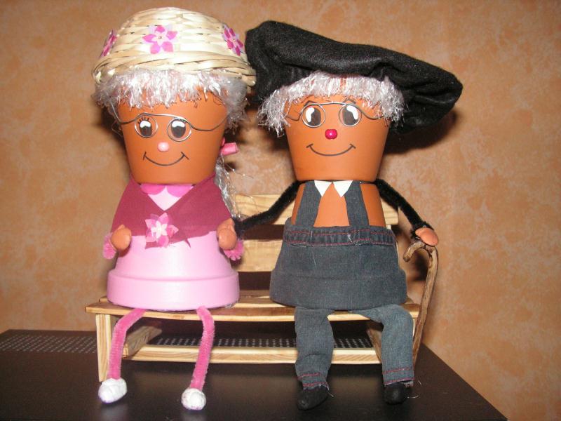 papi et mami cr ations personnage en pot de sanobclean n 29767 vue 11400 fois. Black Bedroom Furniture Sets. Home Design Ideas