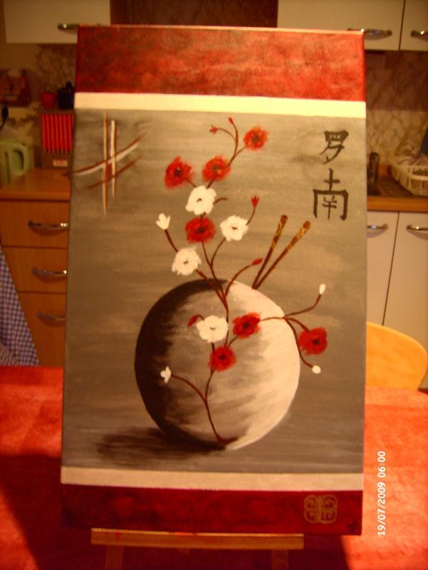Modele tableau peinture acrylique modele tableau for Peinture faire du marron