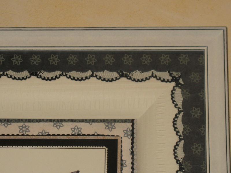 encdrement escarpin chic en noir et blanc cr ations encadrement de anne1963 n 31253 vue 3343. Black Bedroom Furniture Sets. Home Design Ideas