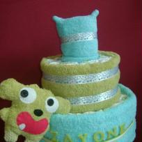 Gateau de couche de Zayone & son poupon