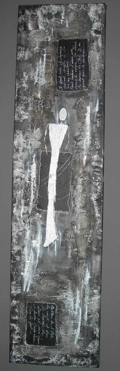 noir m tal acrylique et effets de mati re sur toile cr ations beaux arts peinture de les. Black Bedroom Furniture Sets. Home Design Ideas
