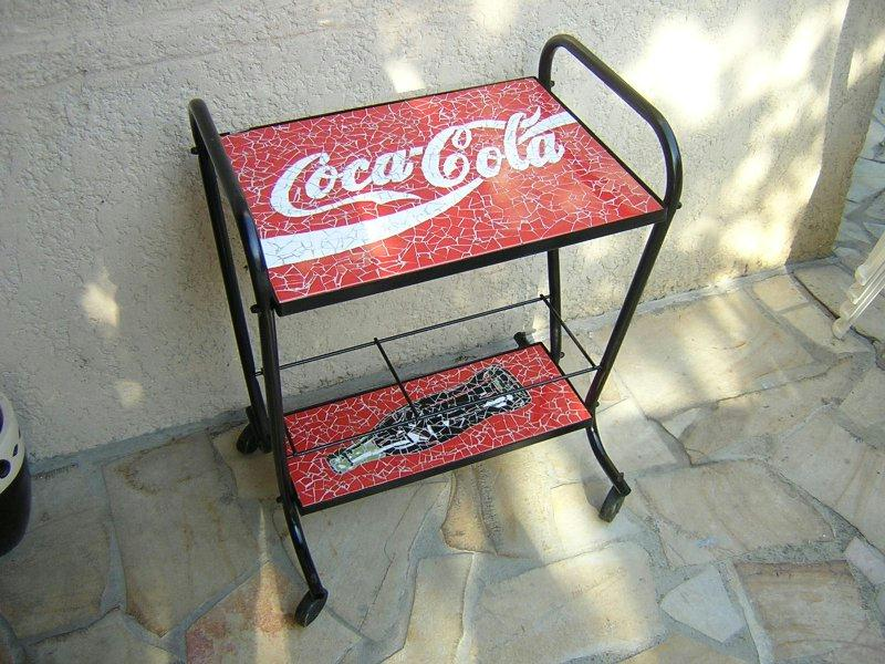desserte coca cola cr ations mosa que de davince n 3264 vue 4875 fois. Black Bedroom Furniture Sets. Home Design Ideas
