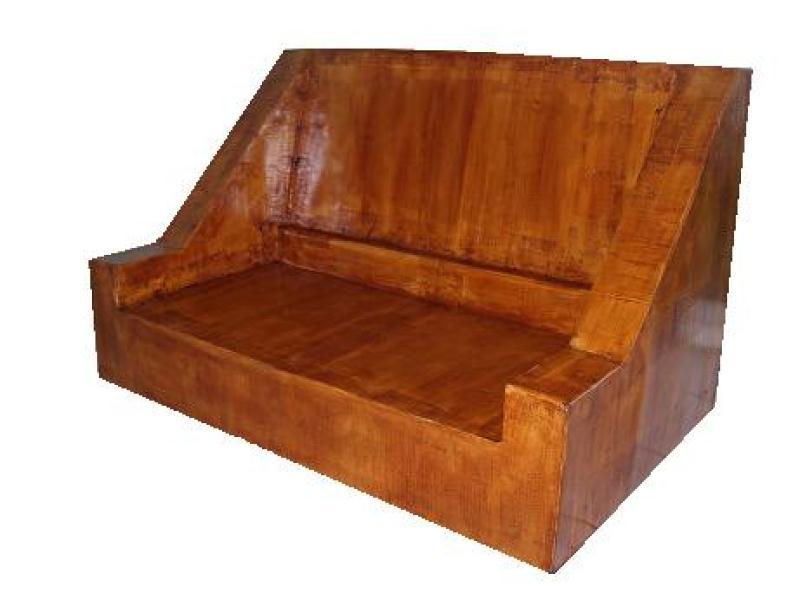 canap en carton imitation bois cr ations meuble en carton de les cartons d 39 h l ne n 32894. Black Bedroom Furniture Sets. Home Design Ideas