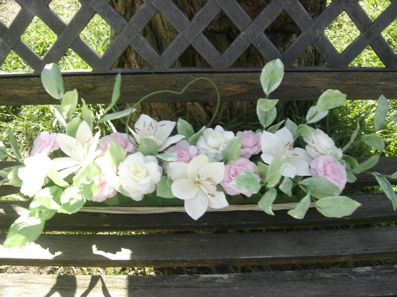 D co floral mariage romantique cr ations art de la table de anjuya n 32956 - Creation deco mariage ...