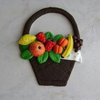 Panier des fruits du verger