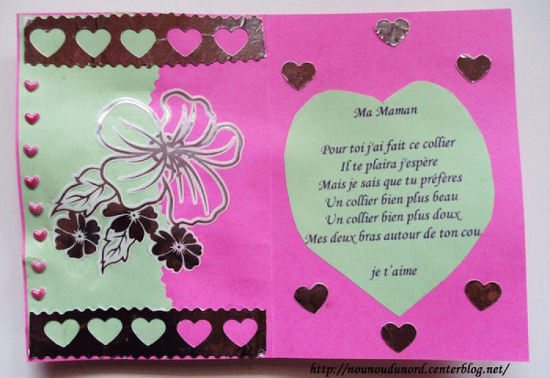 Activite cartes a realiser - Idee activite saint valentin ...