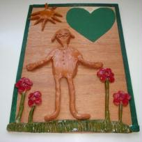 Tableau pour maman dans la nature ensoleille