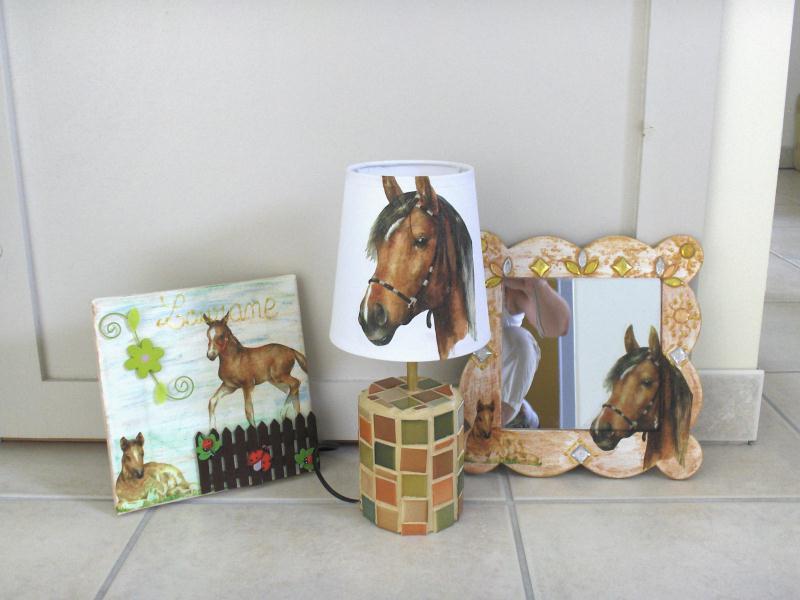 Chambre Deco Cheval : Tout autour du cheval ensemble chambre enfant