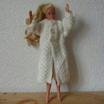 manteau point de blé BARBIE
