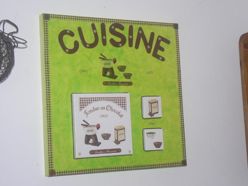 Tableau Cuisine Vert Et Chocolat Cr Ations Serviettes En Papier De Lilicr A N 39237 Vue 2611